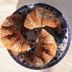 Croissant al grano saraceno e farro