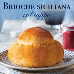 Brioche siciliana col tappo